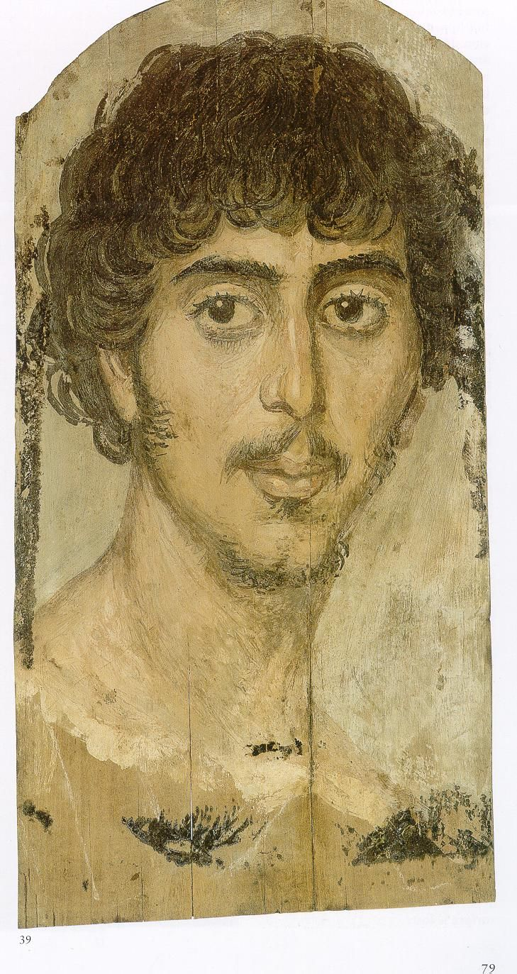 Fayum100CE - 300CE Fayum / Romano-Egyptian / Roman / EncausticMore Pins Like This At FOSTERGINGER @ Pinterest