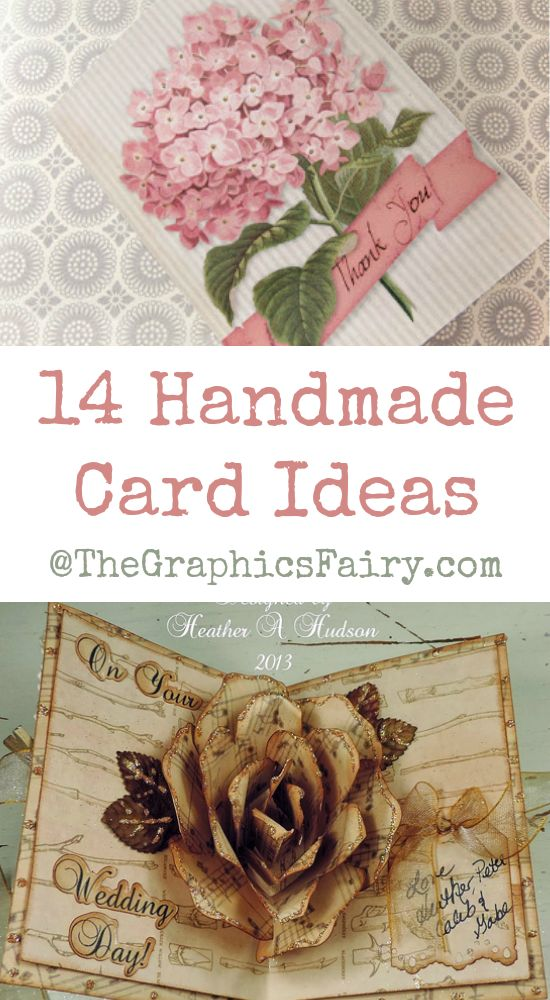 14 Handmade Card Ideas!: