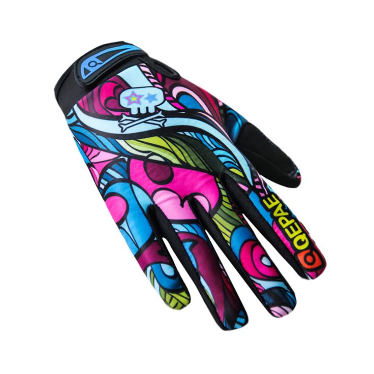Qepae Unisex Men Women Winter Gloves Motorcycle Road Bike Cycling Bicycle Full Finger Ciclismo Outdoor Gloves Breathable Long