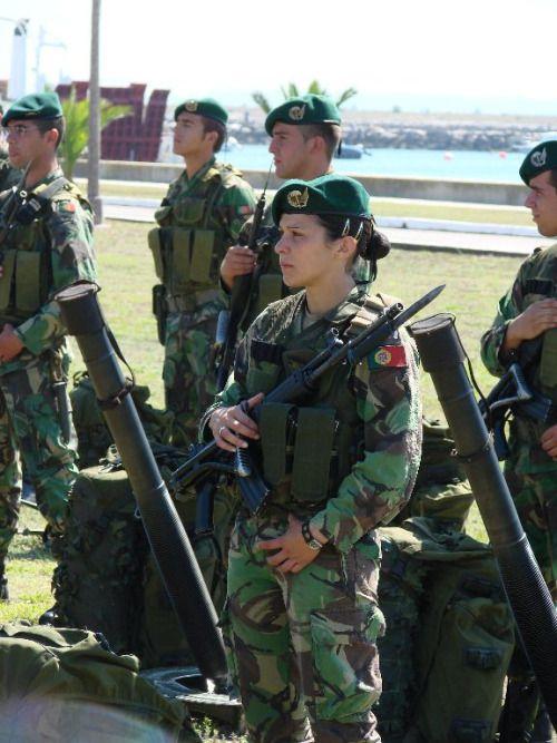Portuguese army.