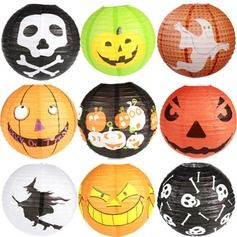 Beautiful Paper/Bamboo Lantern Halloween Costumes & Ornaments