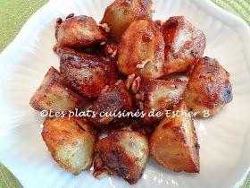 Les plats cuisinés de Esther B: Pommes de terre grelots rôties à l'érable