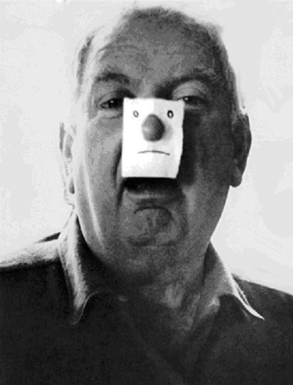 Calder jugando a Steinberg
