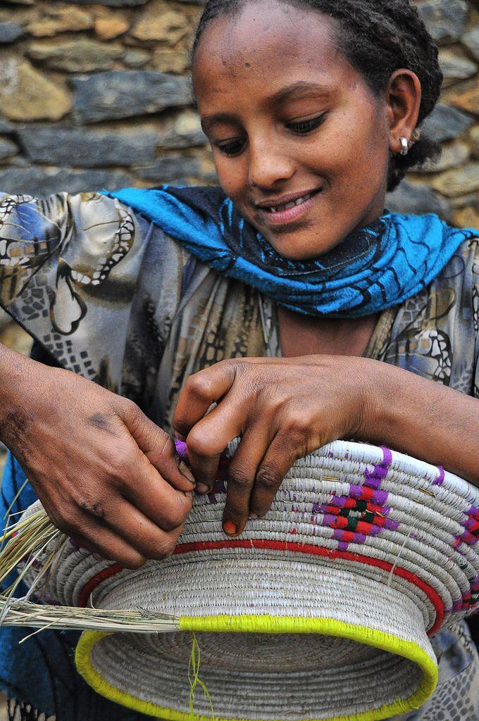 "Africa   ""Hareg learning the art"". Tigray, Ethiopia   ©Rod Waddington."