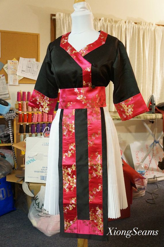 Hmong Dub Clothes by XiongSeams on Etsy, $80.00