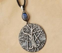Tree of Life PentagramLife Pentagram, Magick Jewelry, Life Pendants, Perfect Pagan, Trees Of Life, Pentacle Trees, Mystic Magick, Trees Pendants, Tree Of Life