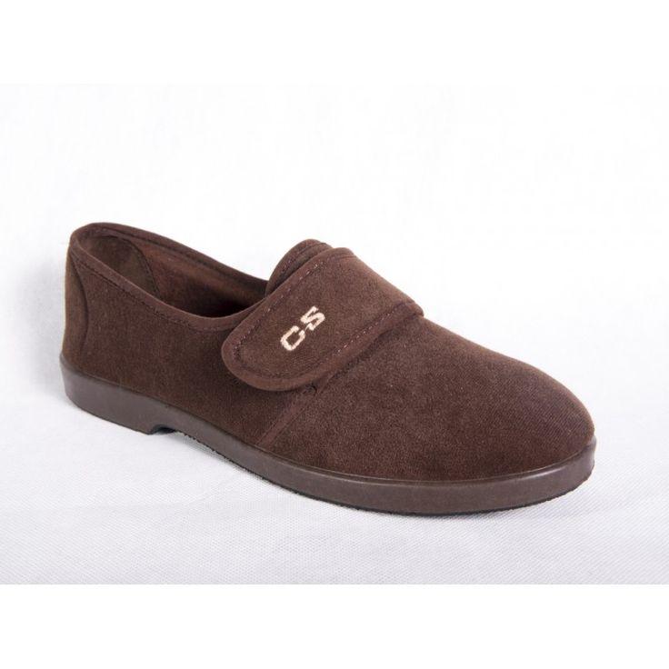 ZAPATILLA ANCHO ESPECIAL DE ANTELINA CON VELCRO - confortableshoes.com
