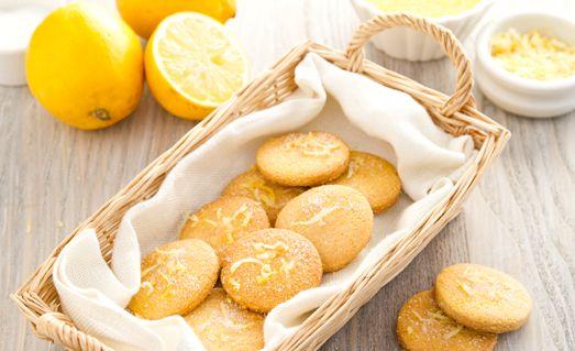 biscotti limone e polenta