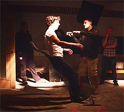 The making of Sherlock season 3. For reasons I'd rather not try to explain, I find this mesmerizing.