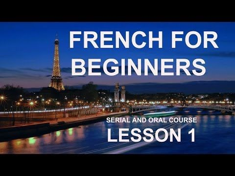 ▶ Lesson 1 - Do you want to Learn French Online for Free? Manesca French for Beginners - YouTube