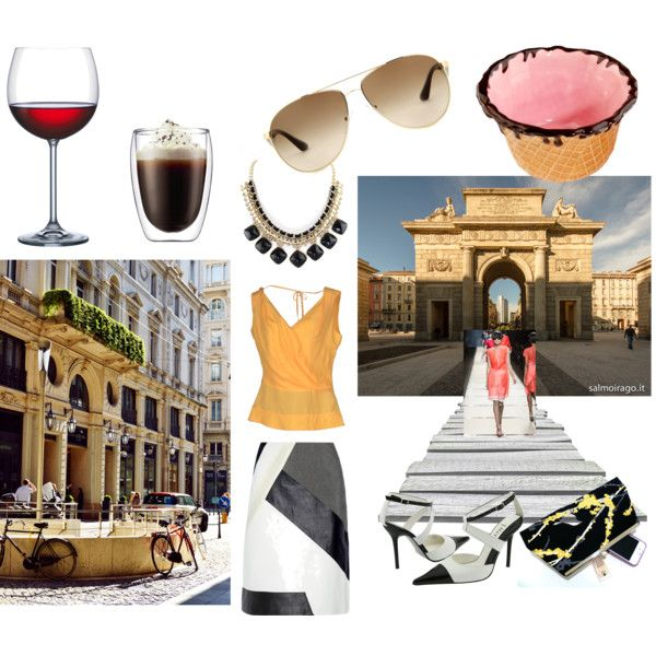 """""""I'm in Milano"""" by nikita-17 on Polyvore"""
