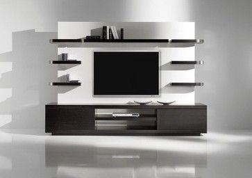 Yuman Mod Vision 1 Entertainment Center modern media storage