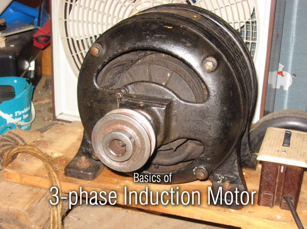 1903 1 2hp Wagner Repulsion Start Induction Motor The Beast Its A Heavy Old Monster Of A 1