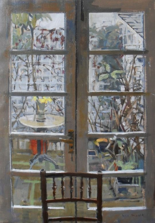 Patio - Ken Howard (b.1932 -