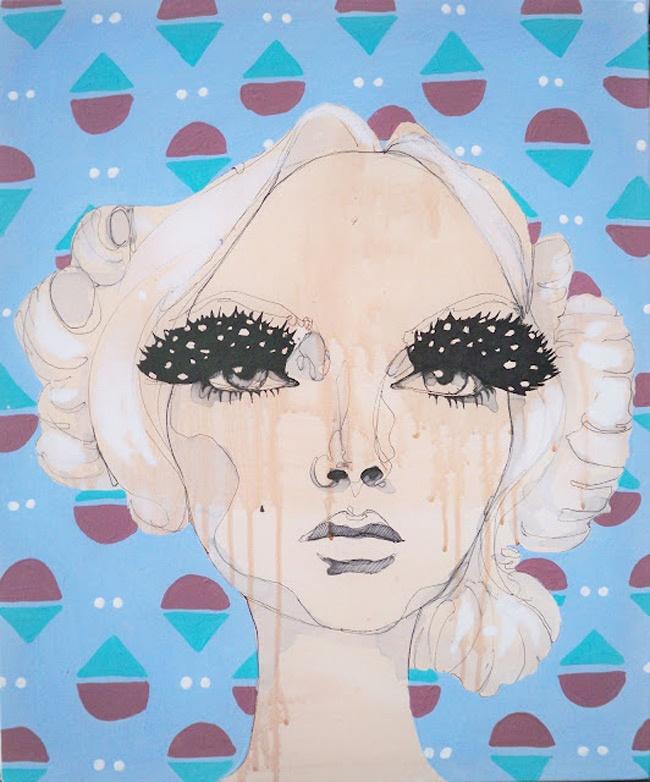 Anya Brock Paintings