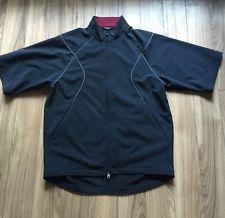 Nike Golf Clima FIT Jacket Mens Large Black 1 4 Sleeve | eBay