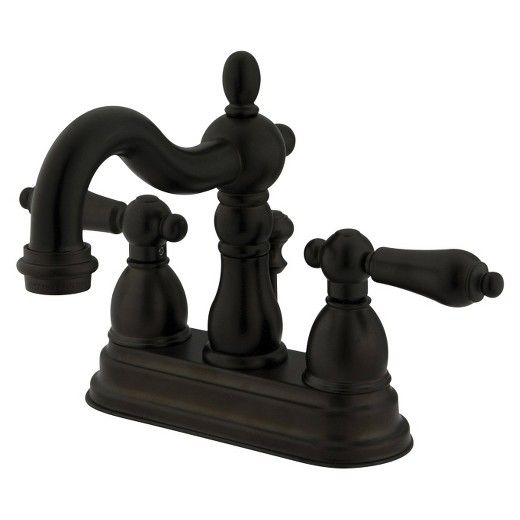 Heritage Oil Rubbed Bronze Bathroom Faucet : Target