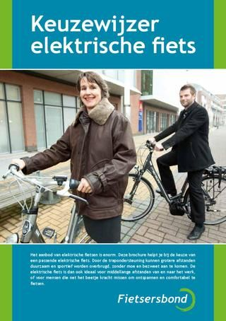 Helpt u de juiste elektrische fiets te kiezen