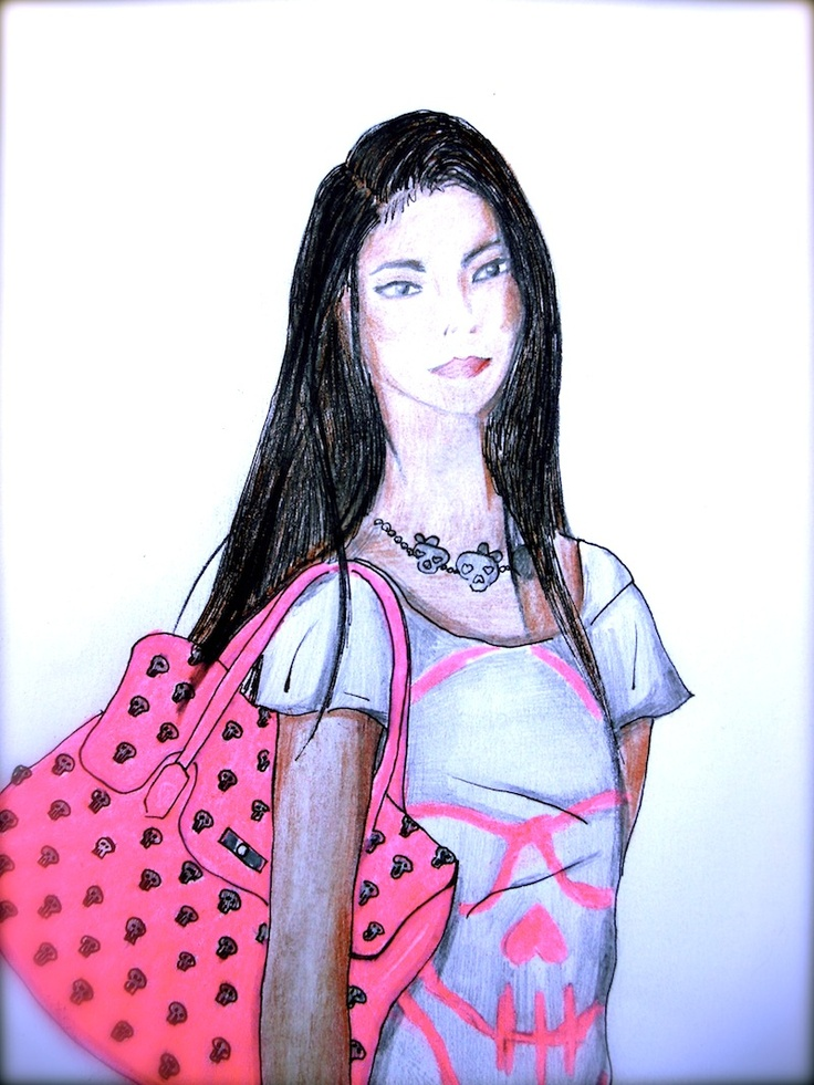 THE FASHIONAMY by Amanda: ♥ ILLUSTRATIONS