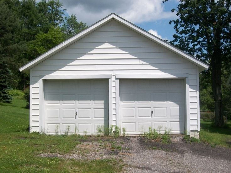 Best 25 detached garage designs ideas on pinterest for One car garage kit with loft