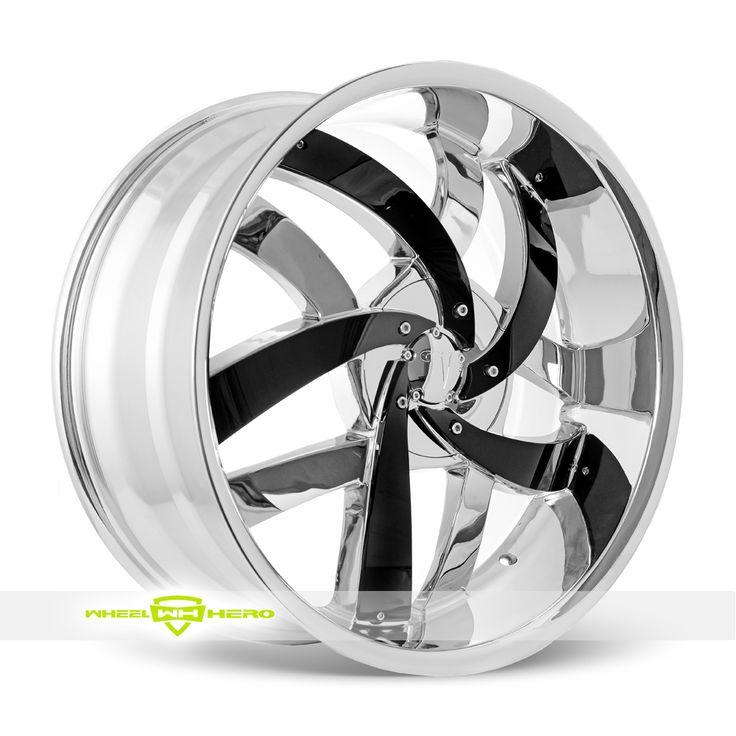 Velocity VW825 Chrome Wheels For Sale- For more info: http://www.wheelhero.com/customwheels/Velocity/VW825-Chrome