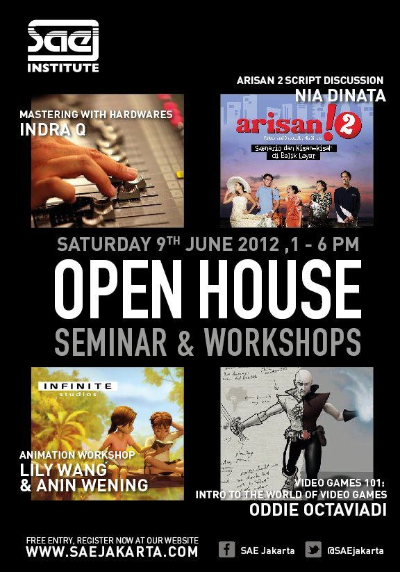 SAE Open House 9 June 2012