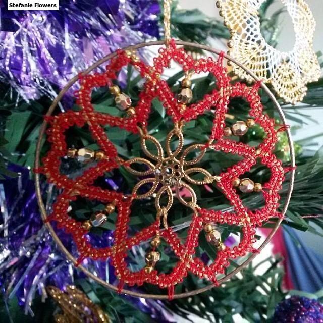 Christmas ornament 2013 Christine Springer kit