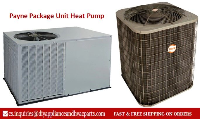 Payne Package Unit Heat Pump Heat Pump Energy Efficient Heating Heating And Air Conditioning