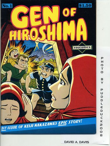 Barefoot Gen, Vol. 1: A Cartoon Story of Hiroshima: Keiji Nakazawa: 9780867196023: Amazon.com: Books