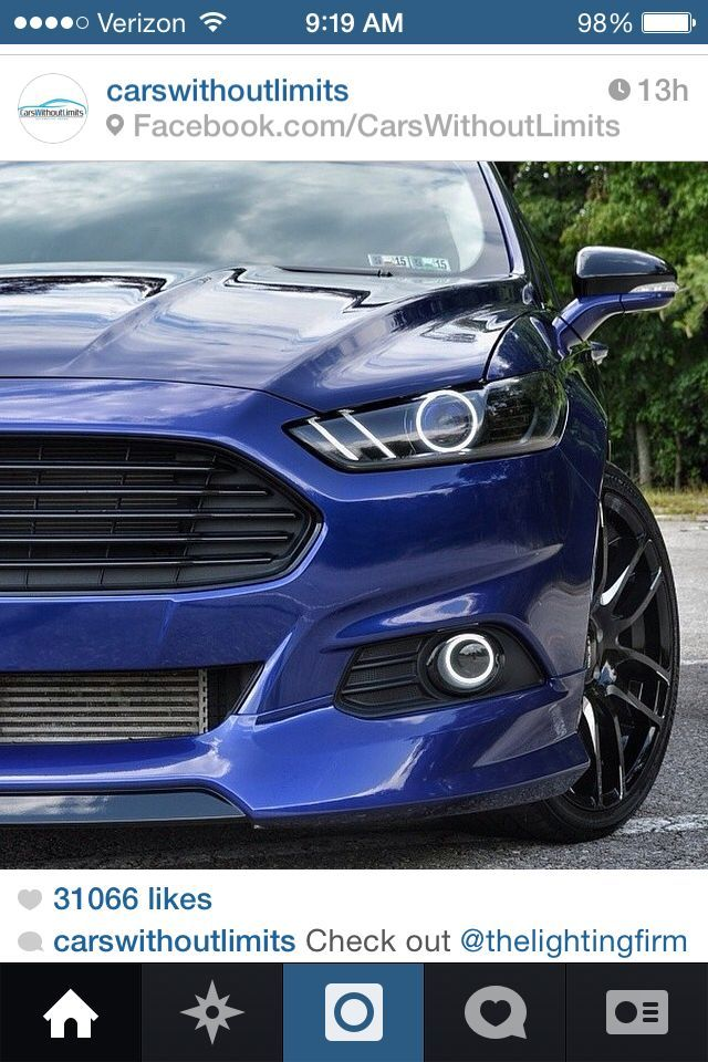 Ford fusion crazy headlight kit | Nice cars | Pinterest | Ford ...