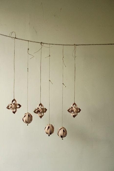 Vegetable Tanned Leather Ornament - IRRE