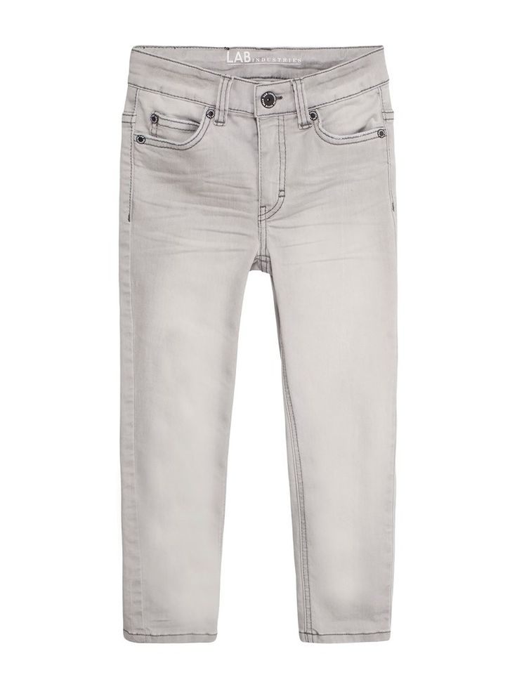 Jeans slim fit - Grå - Kids - KappAhl