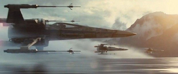 Star Wars 7 Trailer Photo X Wings 1024x426 Star Wars 7 Trailer Analysis: A Closer Look At The Visuals & Story