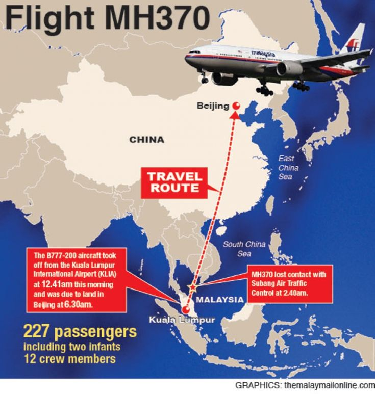 Malaysia Airlines Mystery Deepens After Top Disease Experts Rushed To Indian Ocean   EUTimes.net