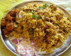 Tasty Appetite: Spicy Chicken Biryani