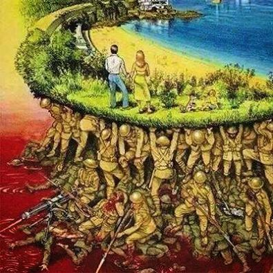 Aproveite bem a sua liberdade na democracia pq muitos morreram por essa tal liberdade.