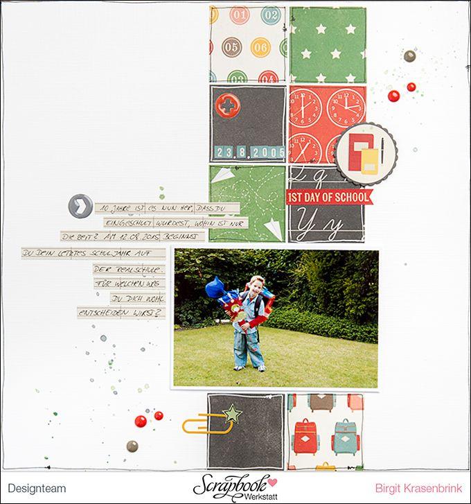 Echo Park Paper | Teachers Pet | Scrapbook-Werkstatt-DT * Birgit K. | SCRAP´ inFeACTed