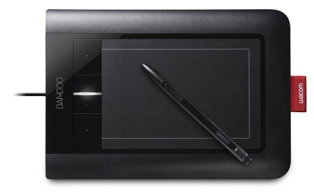 10 Great Pressure-Sensitive Graphics Tablets: Wacom Bamboo Capture - CTH470