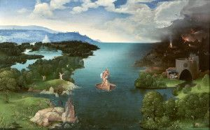 Crossing the Styx Joachim Patinir Prado Müzesi