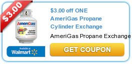 *HOT* Save up to $6 on an AmeriGas Propane Cylinder Exchange or Purchase!!!!