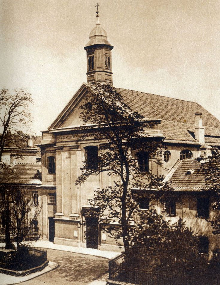 Lata 1918-1939 , Kościół św. Jana Bożego (bonifratrów) przed wojną.