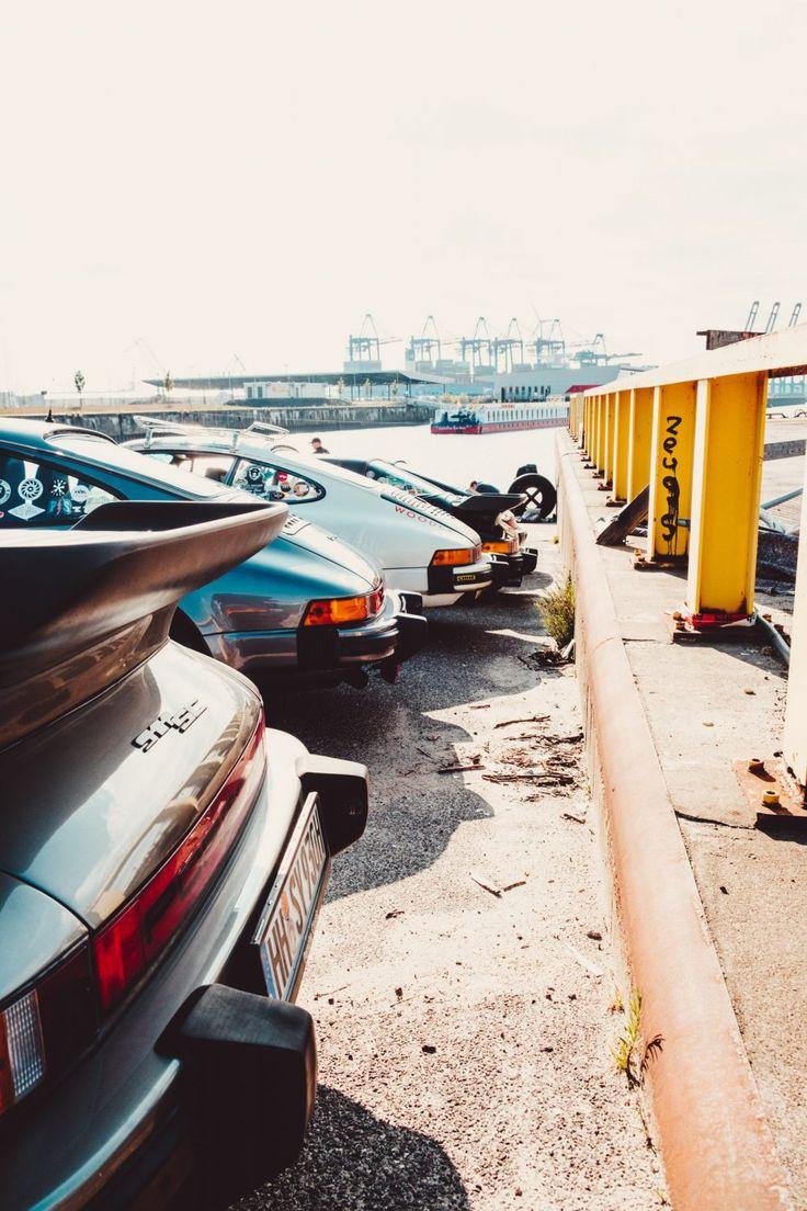 Treffen mit der Raubein-Brigade für eine Porsche-Kreuzfahrt durch Hamburg – Hector Trevino