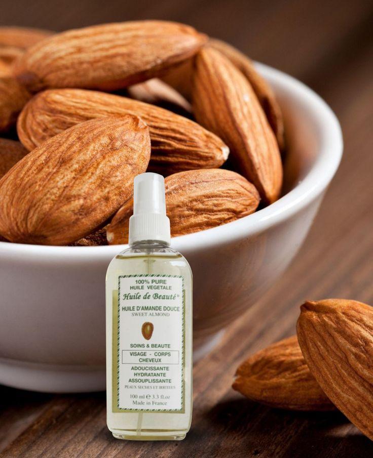 Ulei de migdale dulci Vegetal, 100% pur Acest ulei este bogat în vitaminele A, B şi E, antioxidanţi, grăsimi şi proteine, alături de alte substanţe nutritive esenţiale.  Utilizarea regulată a acestui produs poate trata diverse probleme ale părului şi ale tenului. Mai mult, uleiul de migdale dulci este un ingredient folosit în numeroase produse cosmetice. Nu conţine parabeni. A nu se folosi în cazul existenţei unei alergii la migdale. Cantitate : 100 ml.