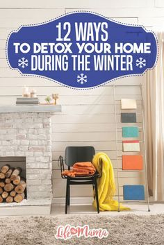 Winter is coming to a close, but that doesn't mean your home doesn't need a good detox. Get rid of pesky chemicals and dust with these tips.