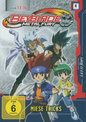 Beyblade Metal Fury Vol. 4 - Ein neues Abent... (DVD - NEU)