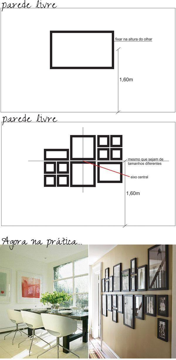 Disposicao De Quadros Decor Interior Picture Wall