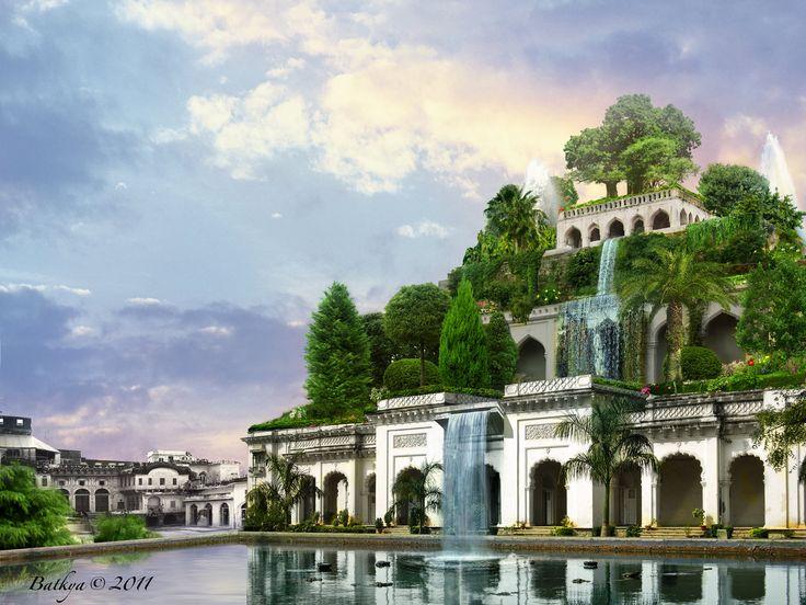 hangende tuinen van Babilon