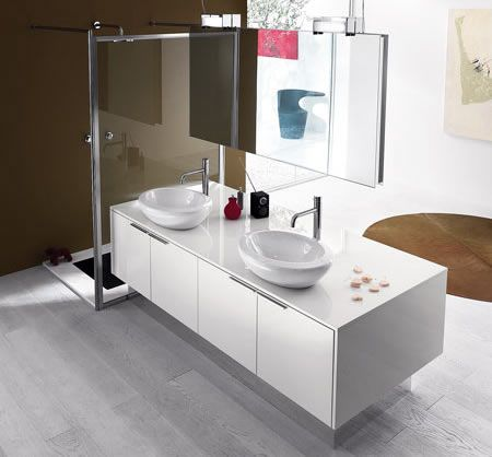 60 best Salle de Bain images on Pinterest Bathrooms, Bathroom and - küchenrückwand glas preis