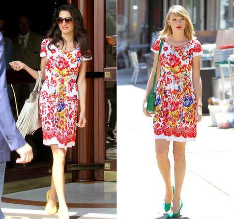 Bagi banyak orang, penampilan adalah yang utama. Terlebih lagi untuk mereka yang berkarir di dunia hiburan yang selalu dituntut untuk tampil sempurna. Baik Amal Clooney maupun Taylor Swift punya cara tersendiri untuk tampil mempesona. Namun, apa jadinya jika keduanya benar-benar memiliki selera yang sama ketika memilih floral dress cantik yang sangat cocok untuk dikenakan di musim panas ini? Foto di atas menjadi bukti nyatanya. Dalam foto tersebut, keduanya tampil sangat cantik dan anggun…