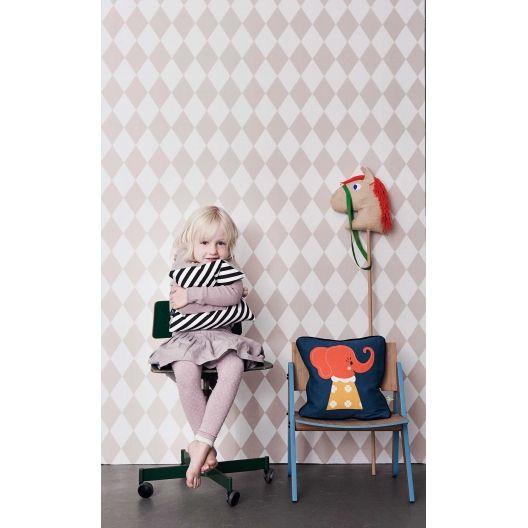 Papel pintado Arlequin Rosa de ferm living